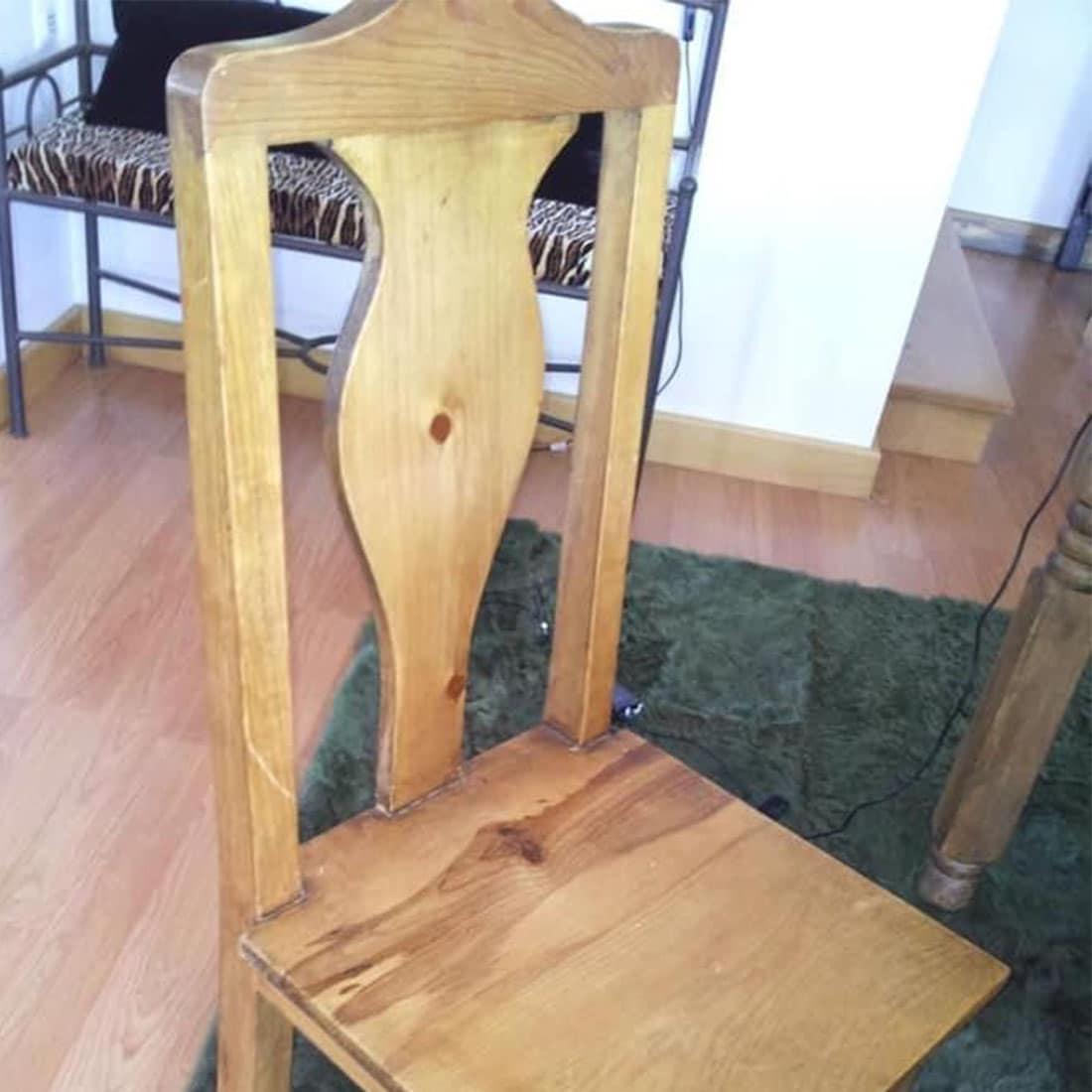 Cadeira Mexicano antes