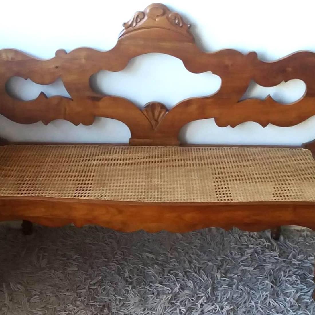 Canapé restaurado