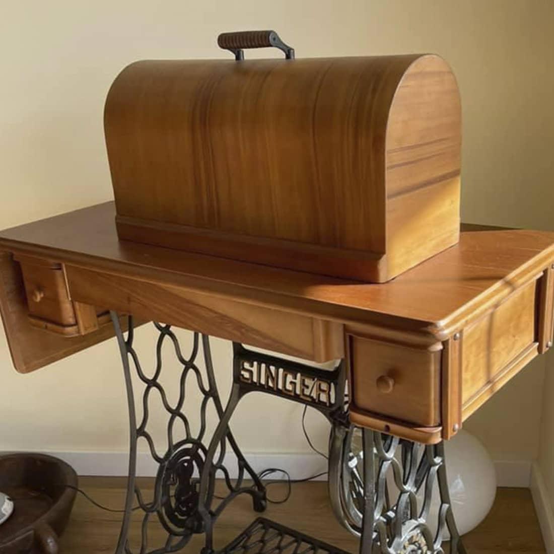 Mesa de costura depois