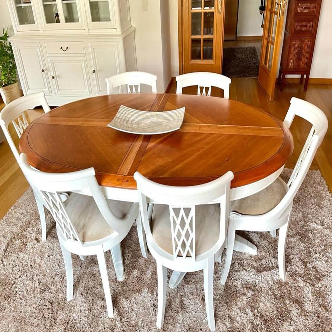mesa de jantar depois